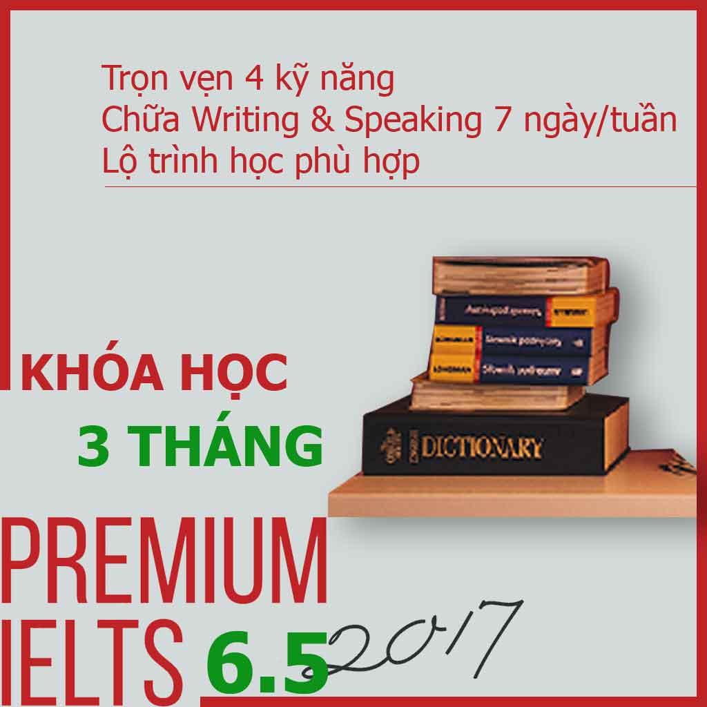 Khóa học Premium IELTS 6.5 - 6 tháng tại ieltsplanet.info