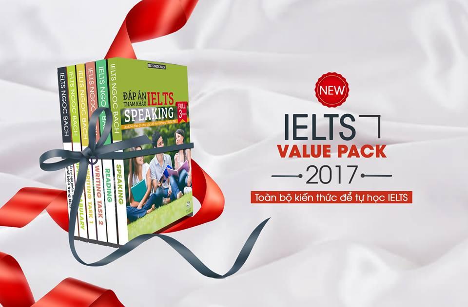 Giới thiệu bộ 6 quyển sách tự học IELTS Ngoc Bach , cập nhật sát đề thi IELTS hiện nay (File mềm PDF) , và hỗ trợ update suốt đời