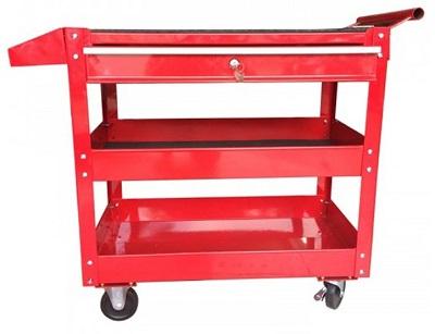 Xe đẩy đồ nghề 3 ngăn 1 ngăn khóa
