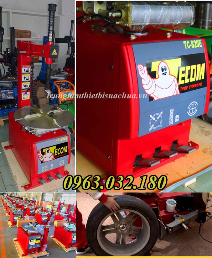 Máy tháo vỏ xe Tecom