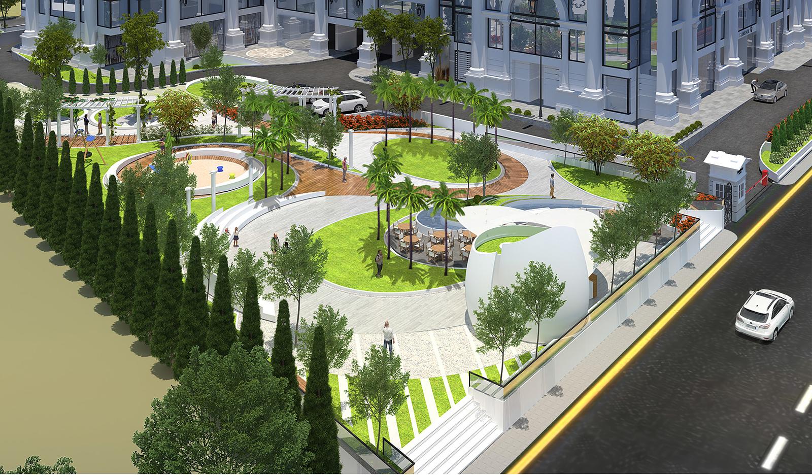 Cuộc sống đầy mầu sắc tại dự án chung cư florence Trần Hữu Dực