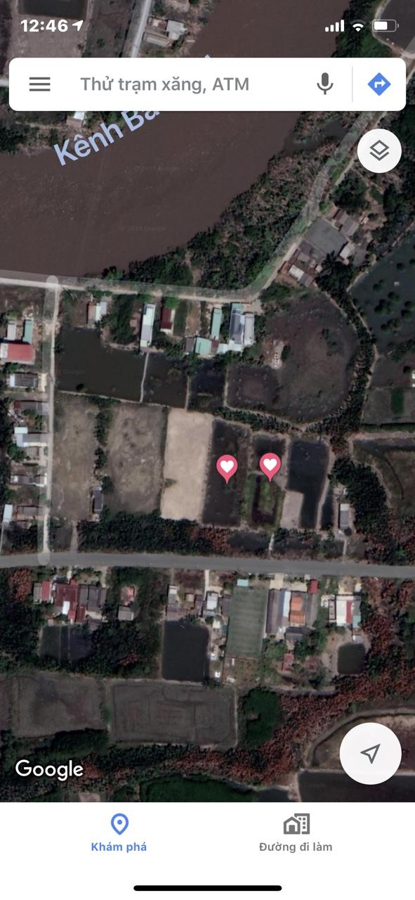 Bán đất đường Thạnh Thới (Lương Văn Nho), xã Long Hòa huyện Cần Giờ