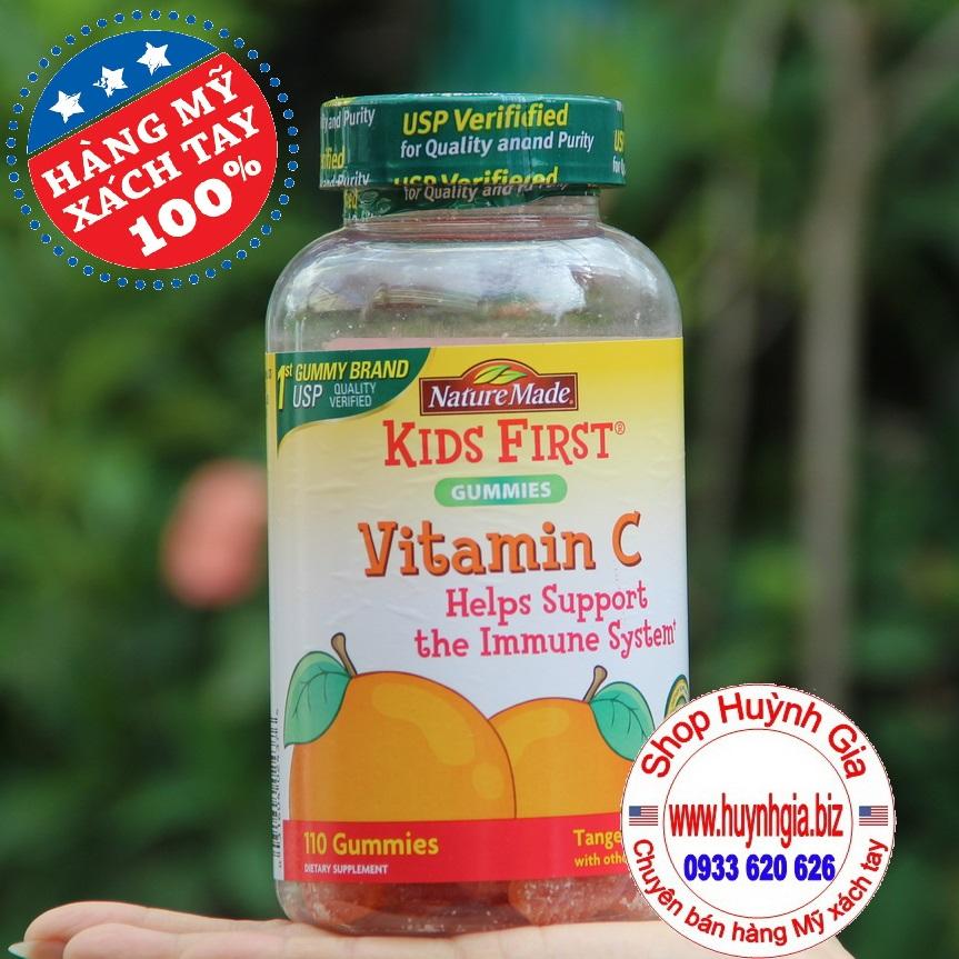 Kẹo Bổ Sung Vitamin C Cho Bé Nature Made Kids First