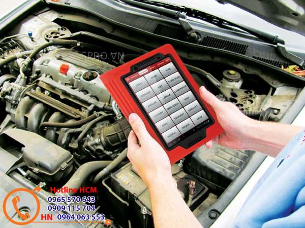 Máy chuẩn đoán lỗi ô tô X431Pro chuyên nghiệp giá rẻ
