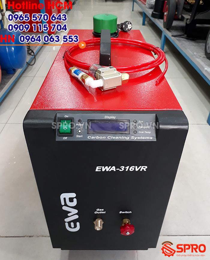 Máy vệ sinh làm sạch buồng đốt xe máy EWA 316VR giá rẻ