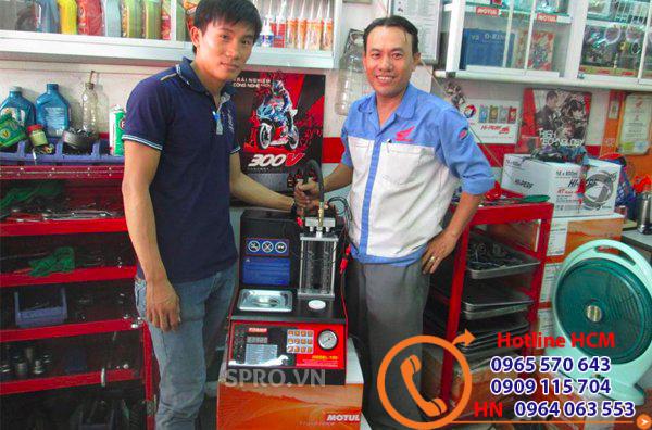Nơi bán máy súc rửa kim phun xăng ô tô giá tốt nhất