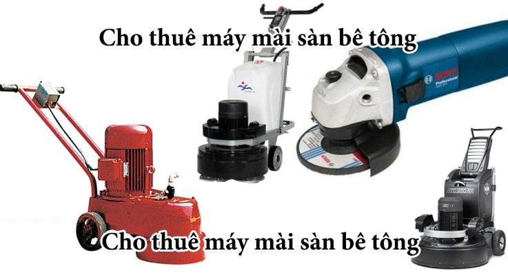 Cho thuê máy nền bê tông giá rẻ ở tại HCM