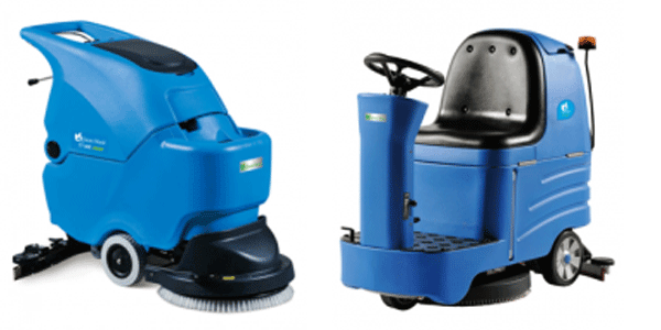 Những máy vệ sinh công nghiệp thường thấy trên thị trường