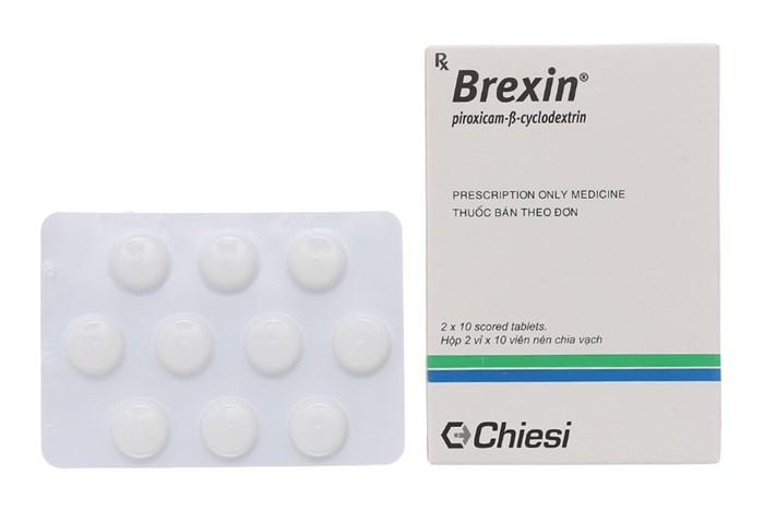 Brexin 20mg công dụng, cách dùng, giá bán