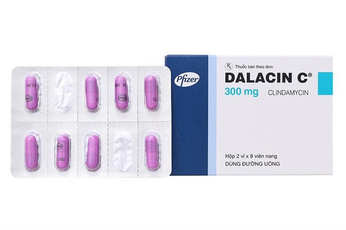 Dalacin C 300mg là thuốc gì? có tác dụng gì