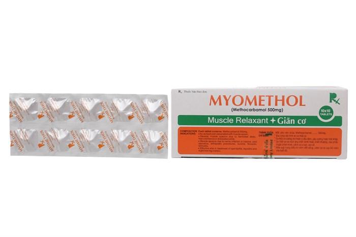 Myomethol công dụng, cách dùng, giá bán