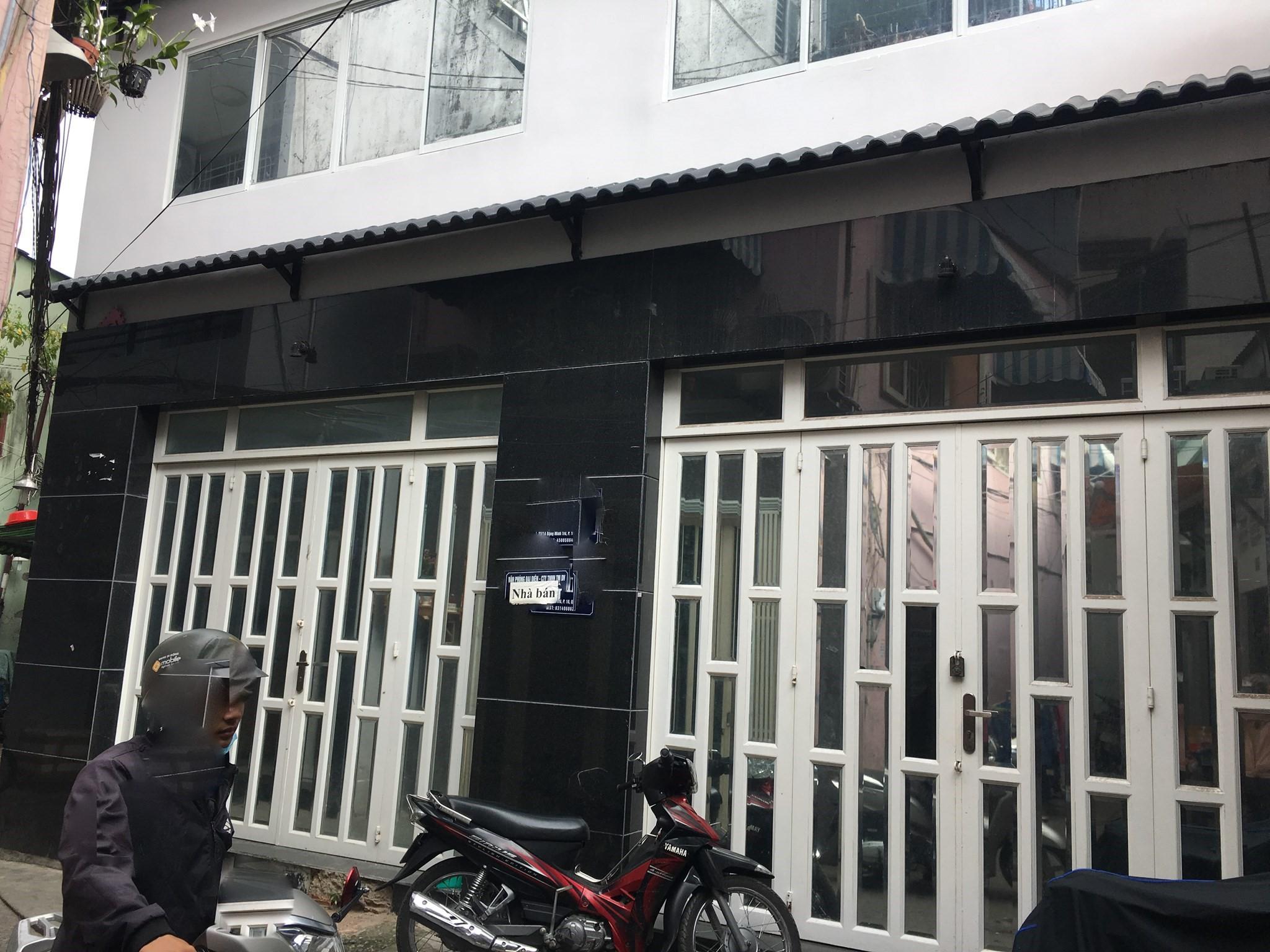Bán nhà giá rẻ, dt: 8 x9, nhà đẹp Đặng Minh Trứ