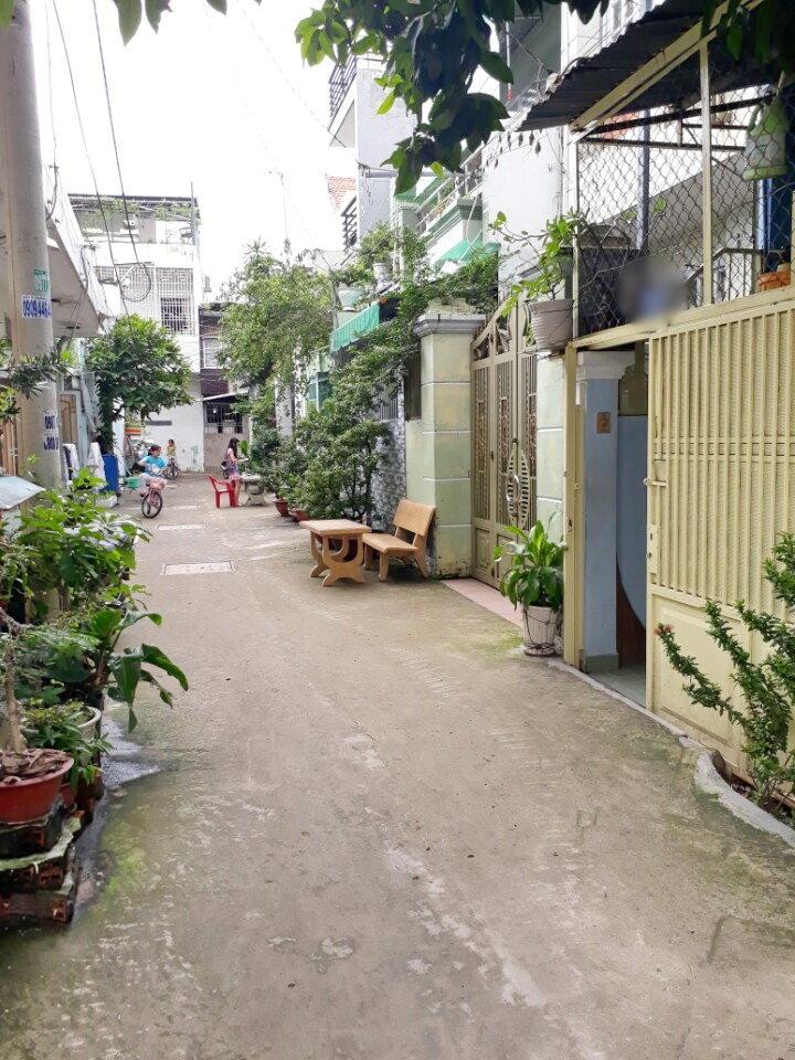 Nhà cho thuê đường Trần Xuân Soạn, diện tích 3x7m, giá 7.5 triệu/tháng, LH 0909477288