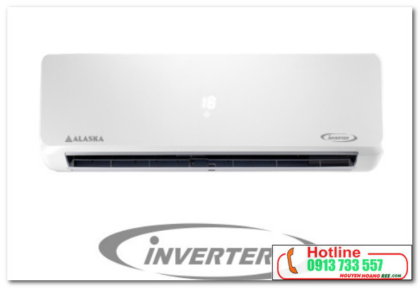 Alaska inverter 1,0HP tiết kiệm 50% điện năng