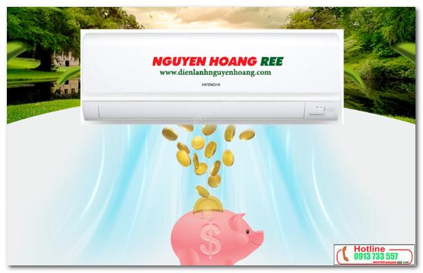 Máy lạnh Hitachi RAS-X13CD tiết kiệm tối đa năng lượng tiêu thụ