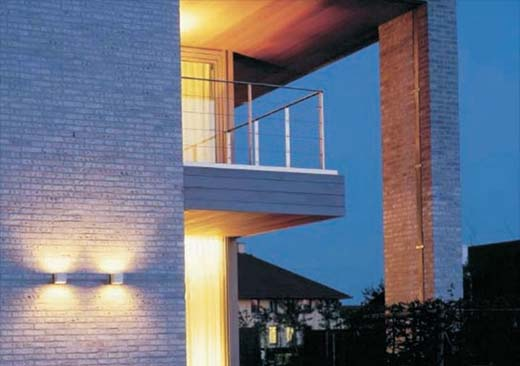 Chọn đèn gắn tường trang trí ngoài nhà hợp phong thủy