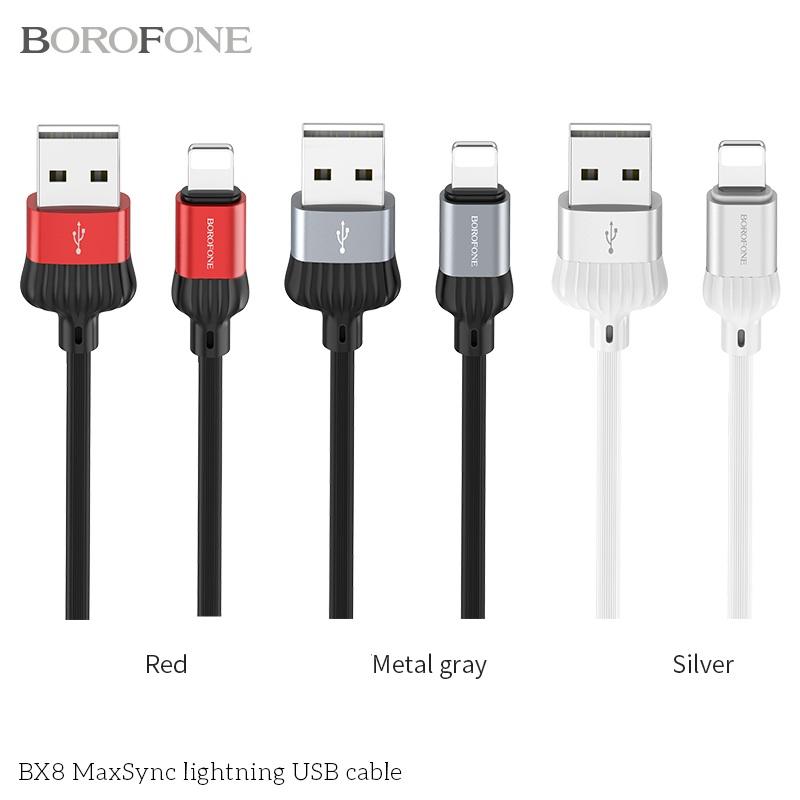 CÁP USB BX8 MAXSYNC - LIGHTNING