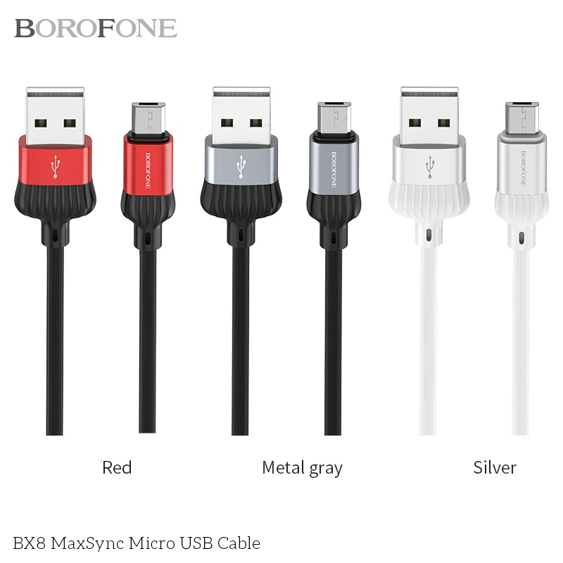 CÁP USB BX8 MAXSYNC - MICRO