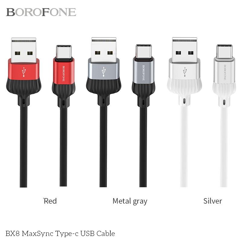 CÁP USB BX8 MAXSYNC - TYPE C