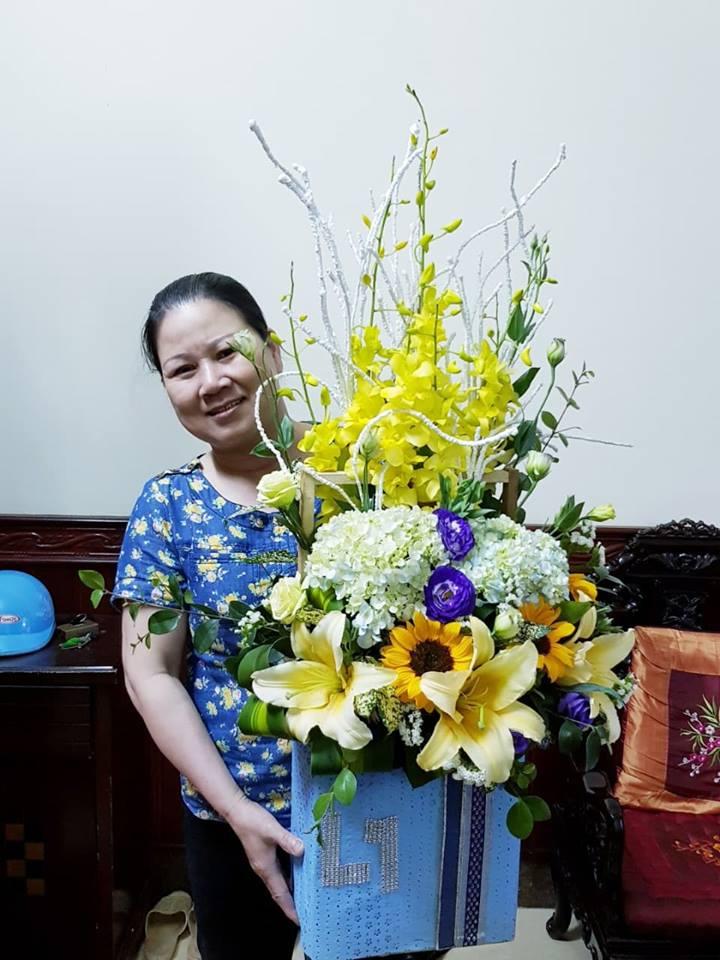 tặng hoa tại thái bình
