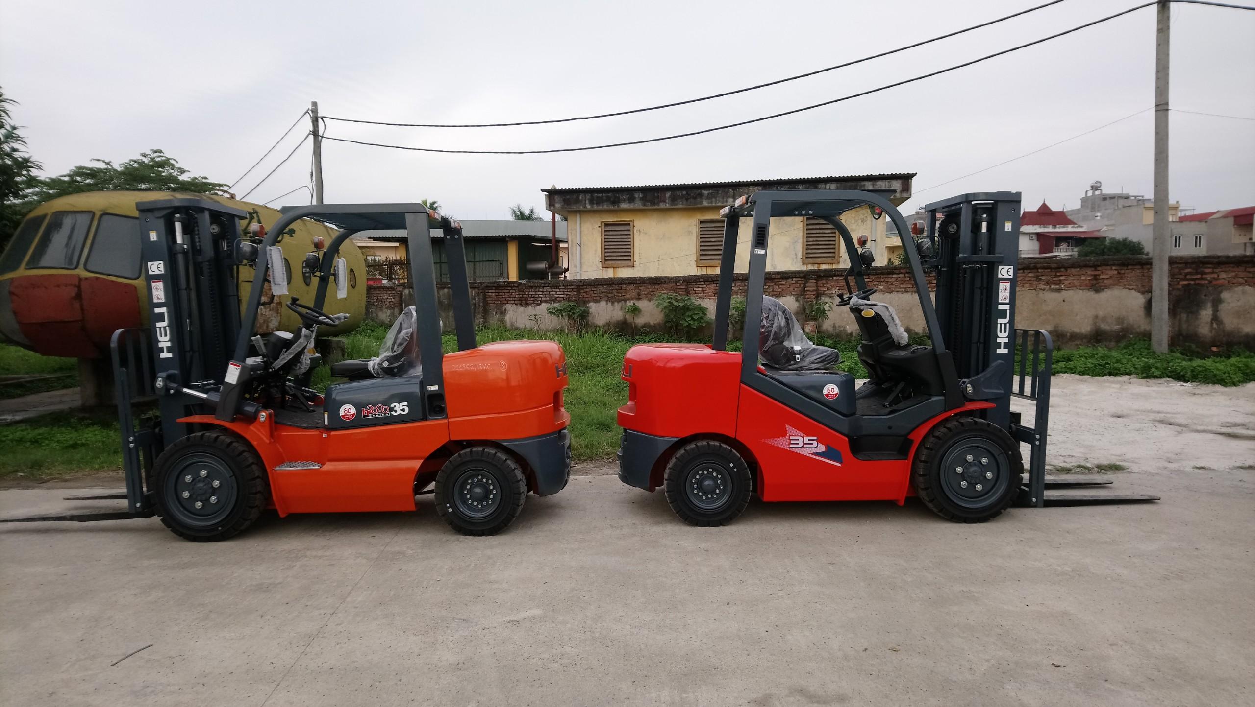 Bán xe nâng tại Đồng Nai - Xe nâng 3 tấn Heli giá rẻ