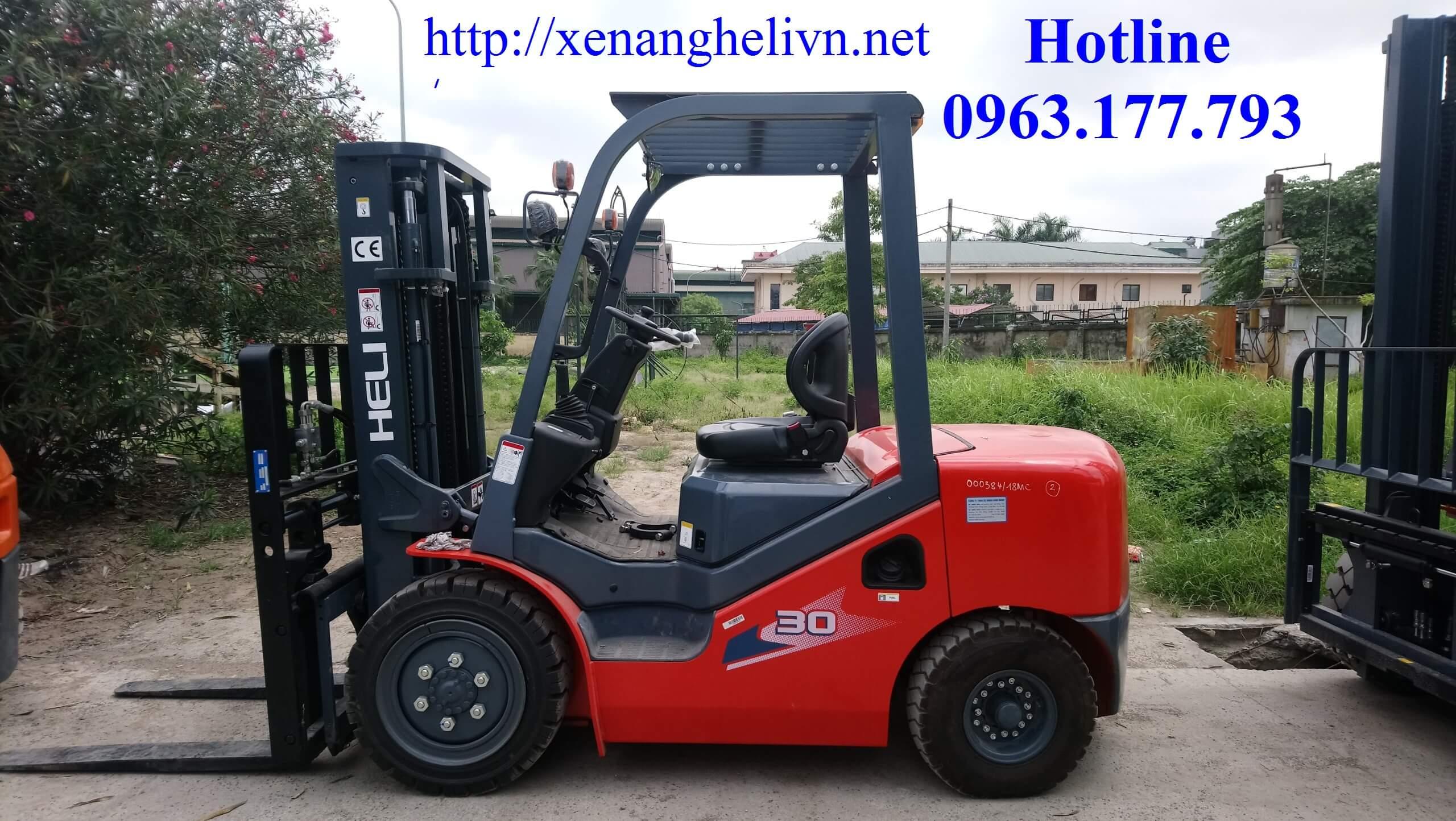 Xe Nâng Chui Container - Xe Nâng Heli Trung Quốc Cao Cấp