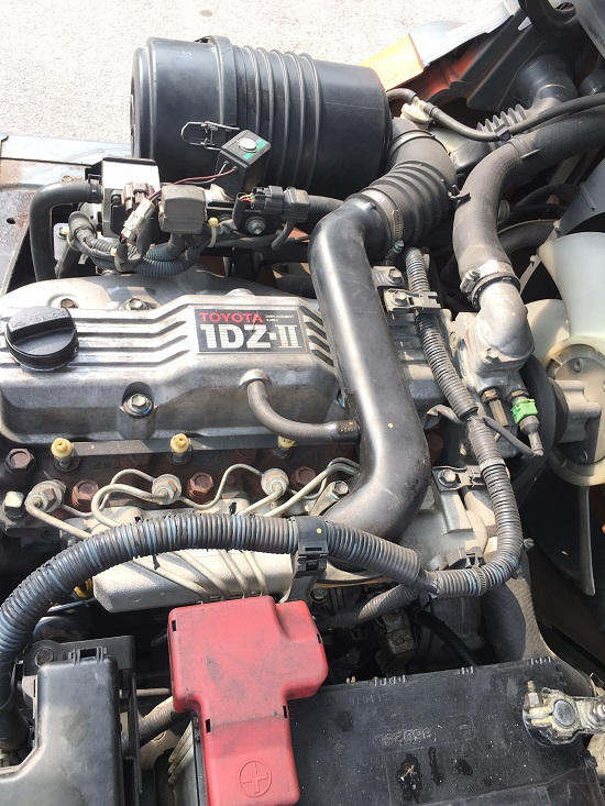 động cơ xe nâng Toyota 1DZ - II
