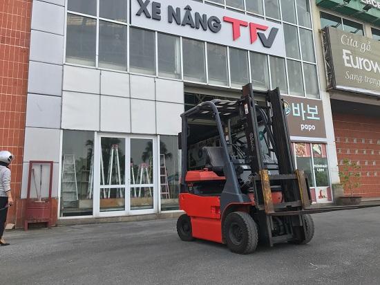 Xe nâng Toyota chiếm giữ thị phần lớn tại Việt Nam
