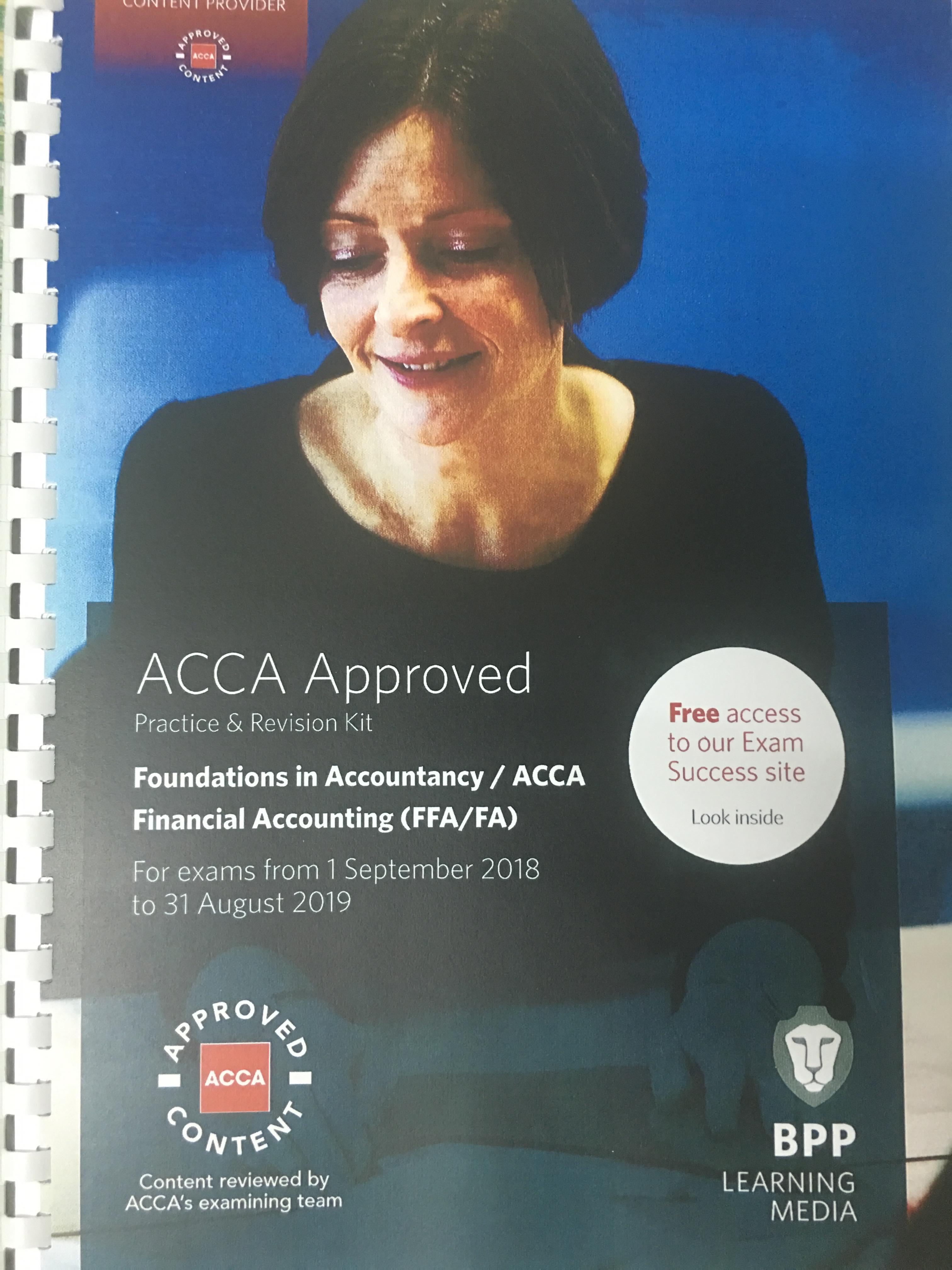 SÁCH ACCA F3 NĂM 2019 (STUDY TEXT+ REVISION KIT)
