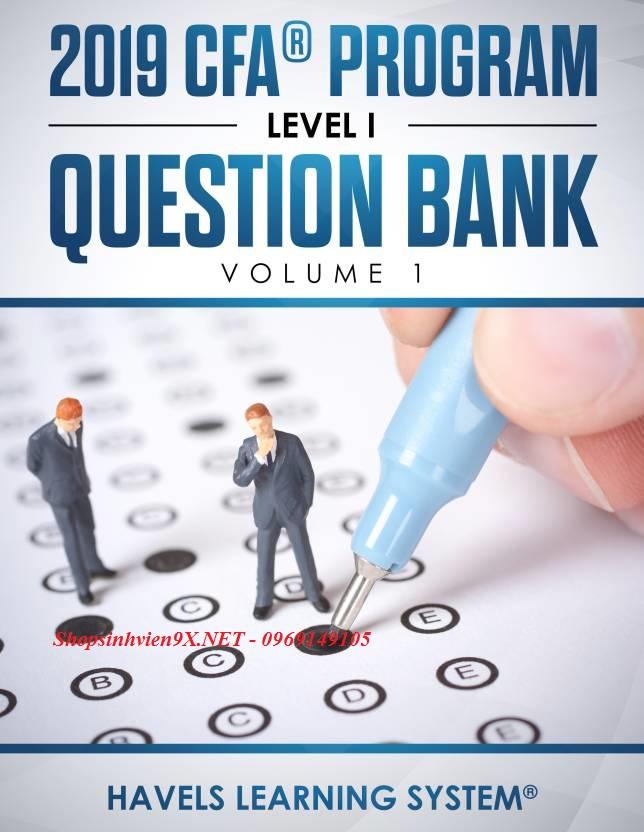 Đã Có Tài Liệu Question Bank CFA Level 1 2019