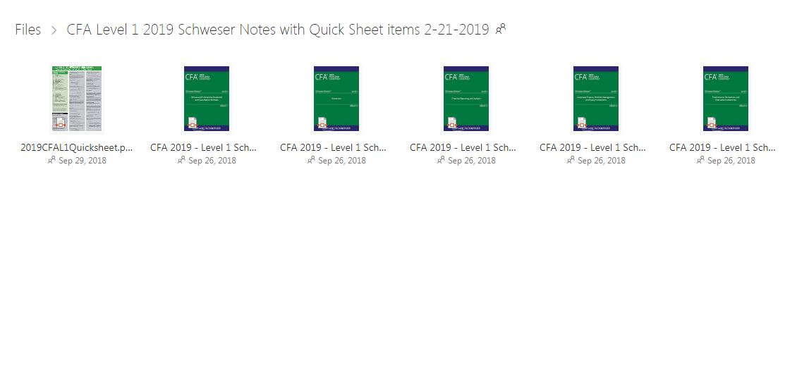 Nguồn Download Tài Liệu CFA 2020