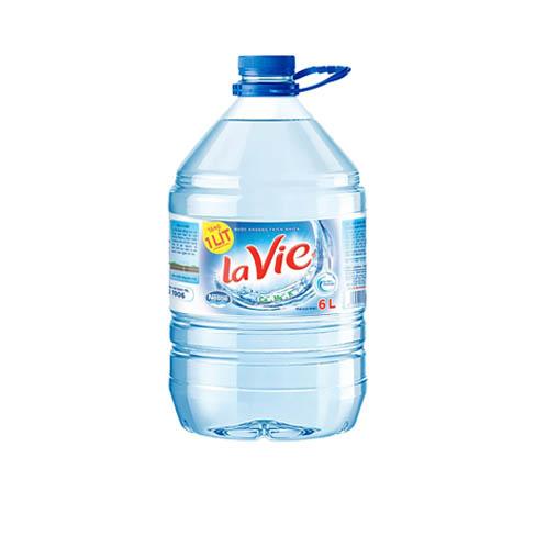 Nước khoáng Lavie 6L