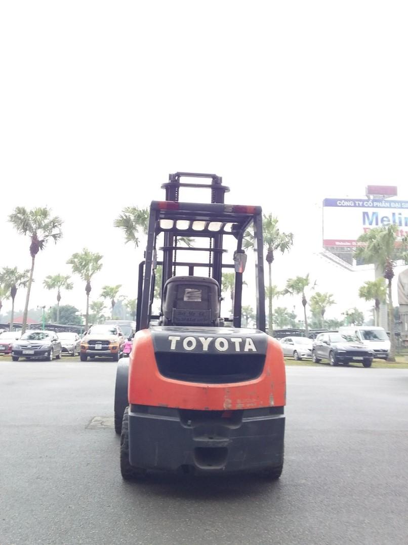 Xe nâng dầu Toyota 50-8FDJ35, 2007, V4000, SK 11680