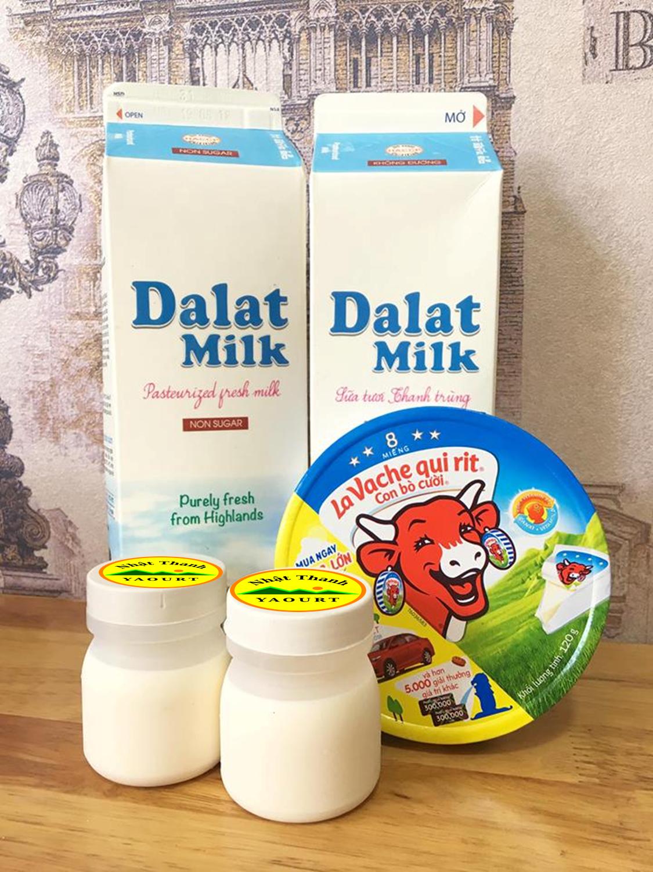 Đặc sản Sữa chua Phô mai Nhật Thanh (hũ nhựa)