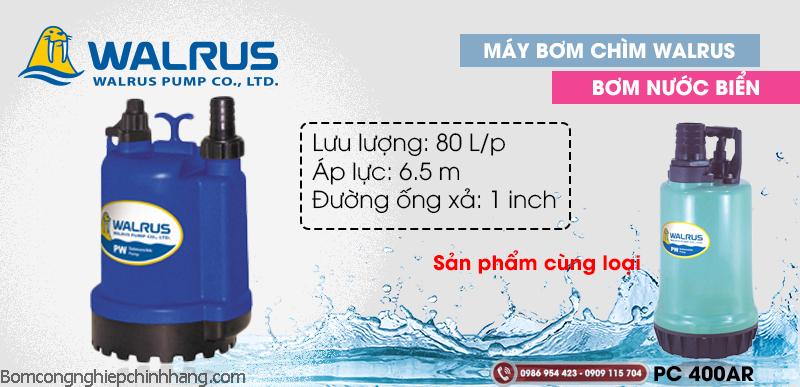 Chia sẻ kinh nghiệm mua và sử dụng máy bơm chìm nước biển