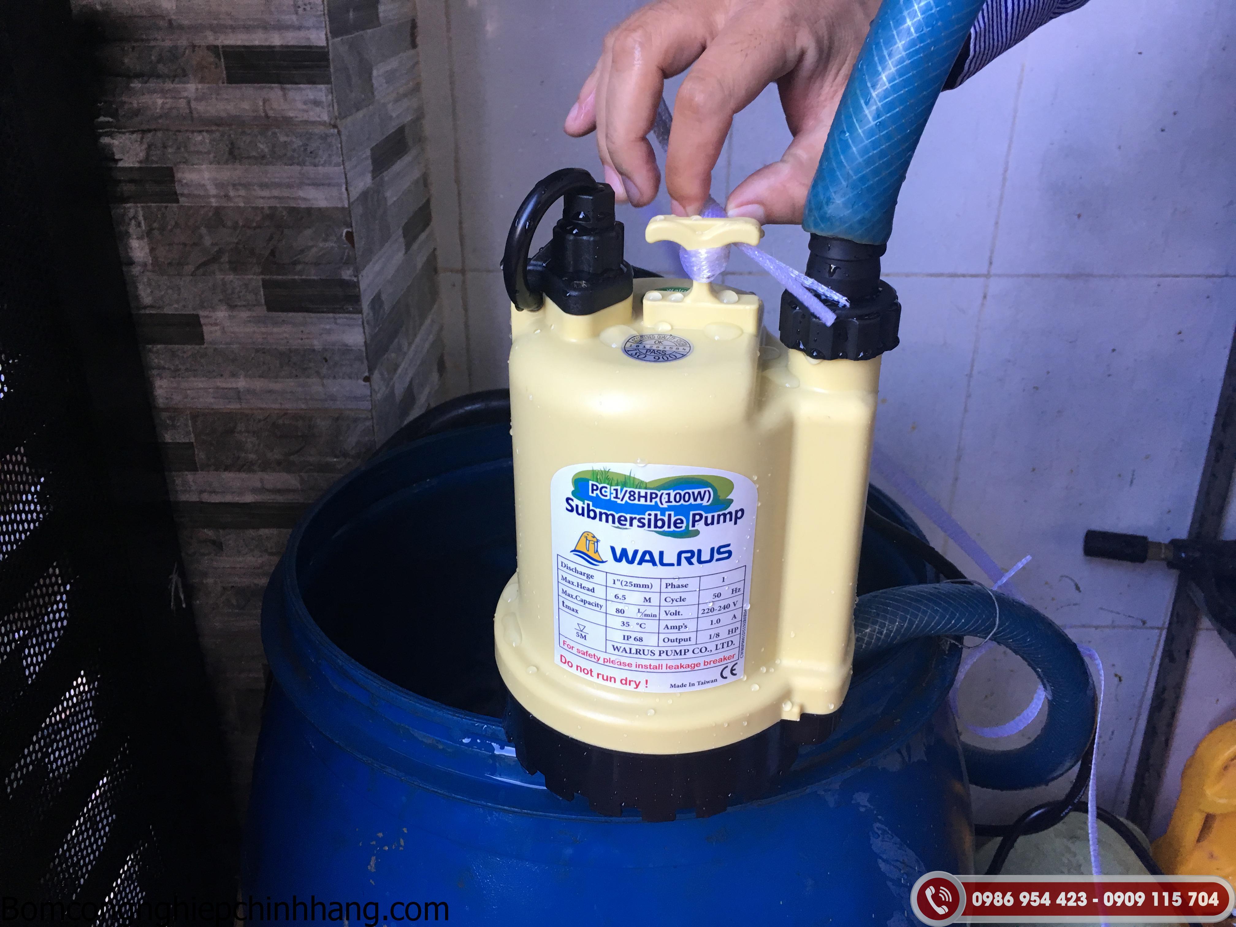 Máy bơm chìm nước thải chất lượng cao giá tốt trên toàn quốc