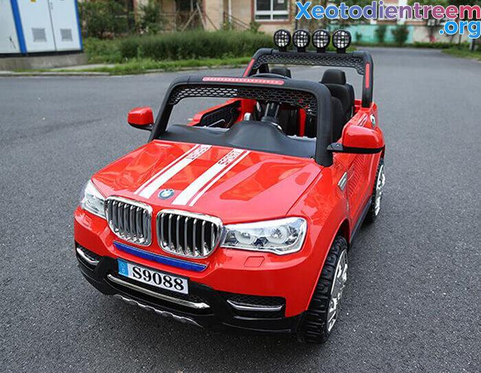 Xe hơi điện cao cấp 2 chỗ ngồi cho bé S9088