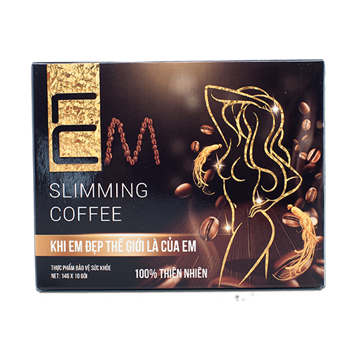 Cafe nhân sâm giảm cân EM
