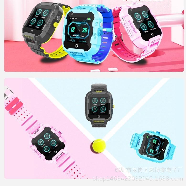 Đồng hồ định vị DF39Z 4G chống nước IP67 GPS Wifi
