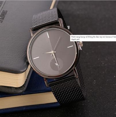 Đồng hồ đeo tay dây sắt