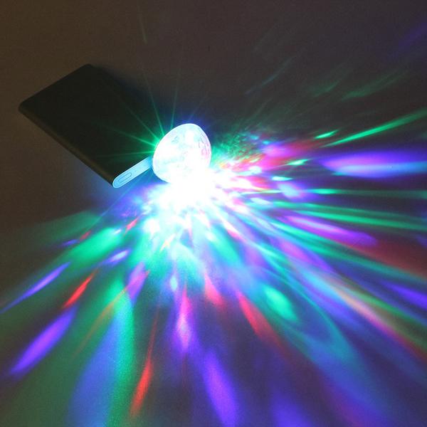 Đèn led vũ trường mini
