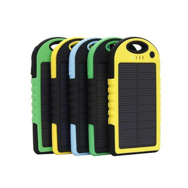 Pin dự phòng tự sạc bằng năng lượng mặt trời 13.000 mah DLS19