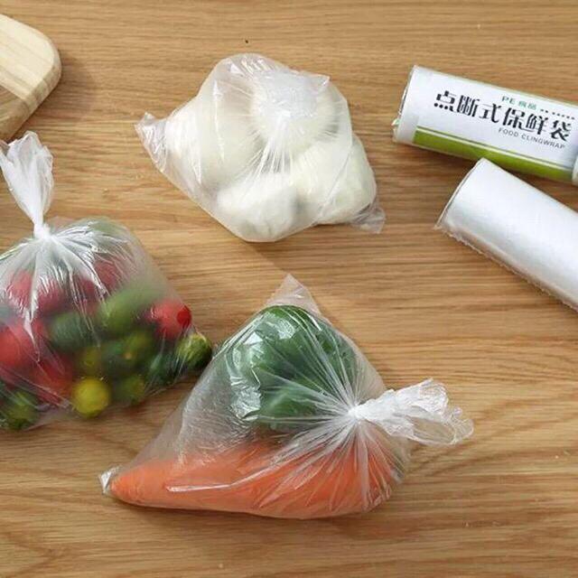 Cuộn 100 túi đựng thực phẩm sinh học 20x30cm