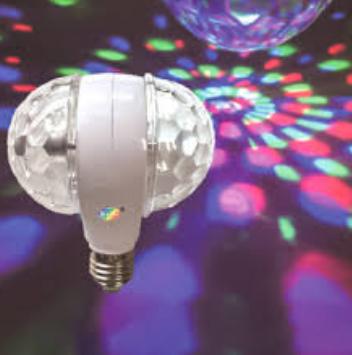 Đèn LED Xoay Nhiều Màu Magic Ball Light