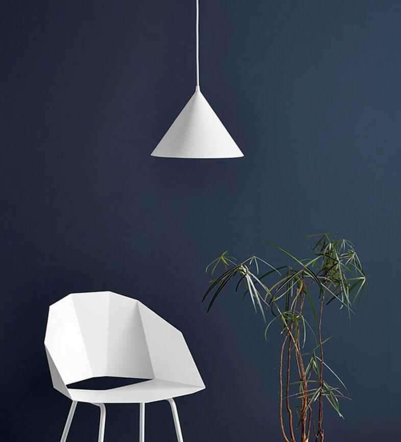 Đèn thả led nghệ thuật trang trí hình nón XTE 302