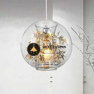 Đèn thả trần thủy tinh trang trí đẹp FK104