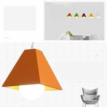 Đèn thả trang trí hiện đại đầy màu sắc XTE 316