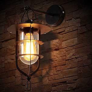 Đèn treo tường phòng ngủ cổ retro FK211