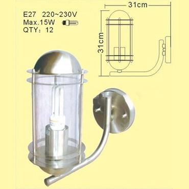 Đèn treo tường gắn inox ROL229