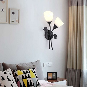 Đèn tường thủy tinh hoa ly XTE 250